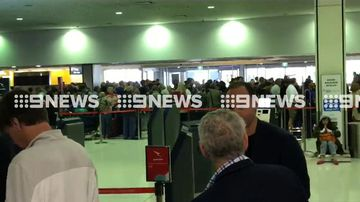 Passengers stranded as global check-in system used by international airports suffers outage