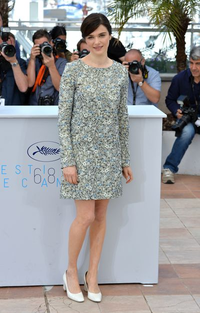 <p>Rachel Weisz at the photocall for <em>Youth</em></p>