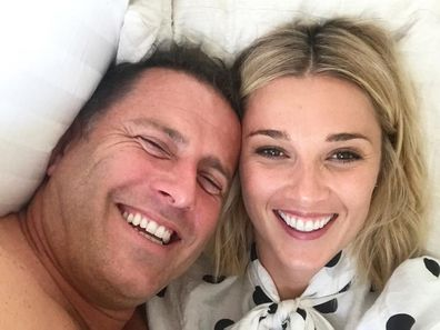 Karl Stefanovic, wife, Jasmine Yarbrough, selfie