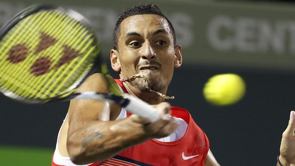 Kyrgios into Miami Masters semi-final