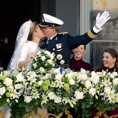 Prince Willem-Alexander with Maxima Zorreguieta