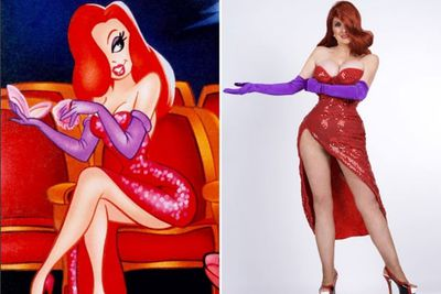 57-year-old great grandmother Annette Edwards, spent $16,000 on surgery to resemble the cartoon character Jessica Rabbit, from <i>Who Framed Roger Rabbit</i>. The transformation included a boob job, brow lift and $1000 worth of Botox injections.