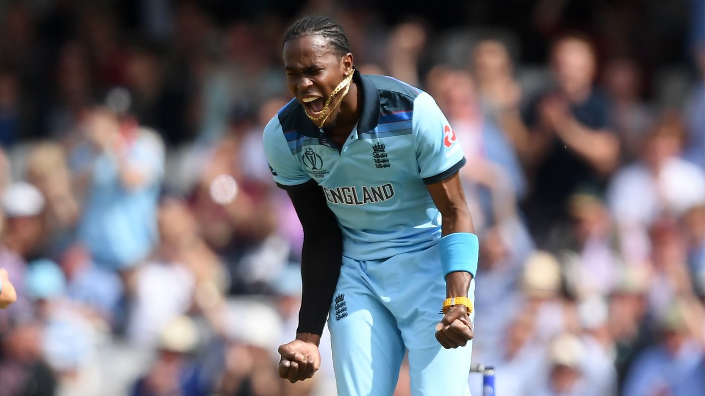 Jofra Archer, Ben Stokes star as England dismantles South Africa in World Cup opener