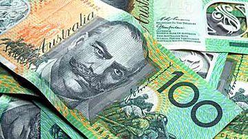 Australian $100 notes (Getty)