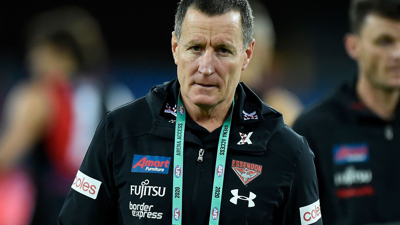 John Worsfold issues prickly response to frustrated Essendon fans after latest horror show
