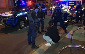 BMW driver charged after allegedly hitting pedestrian while four times over the alcohol limit in Sydney