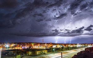Deadly thunderstorm asthma triggered by weather events