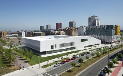 Salburua Civic Center by ACXT, Spain.