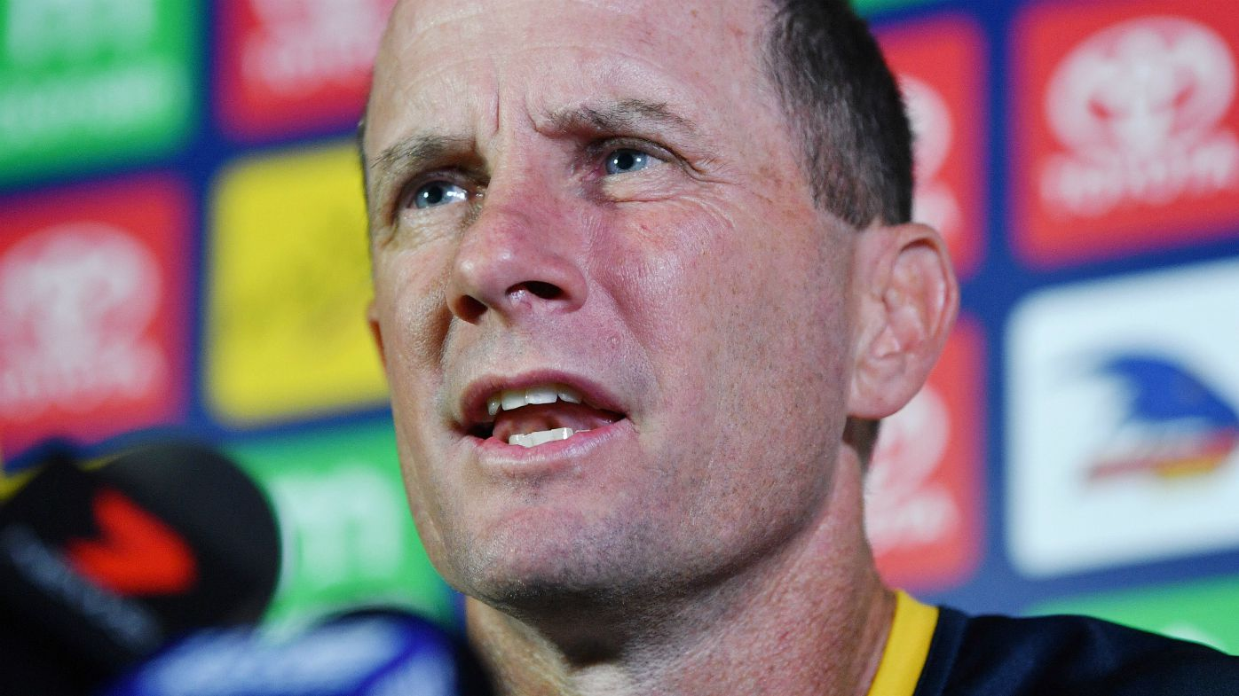 Don Pyke speaks to the media