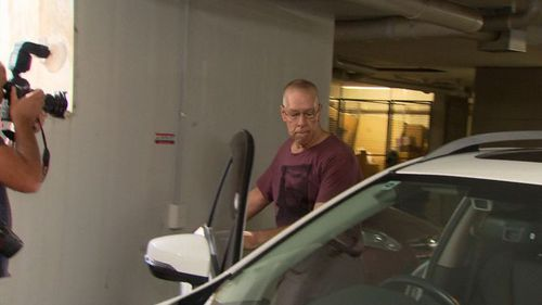 Graham Kay, 66, has pleaded not guilty to common assault. (9NEWS)