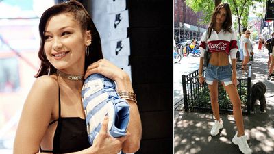 Why celebrities are obsessed with the 'ugly sneaker' trend