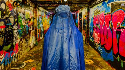 "<p>The Australian photographer&nbsp;hopes his art can get people talking.</p> <p>&nbsp;</p> <p>""This Afghan burqa is actually something you never really see, or at least I've never seen in an Australian setting. So that attracts attention,"" Muir tells <em>9Honey</em>.</p> <p>&nbsp;</p> <p>However, he admits not all responses are positive.</p> <p>&nbsp;</p> <p>'I get rants saying ""You're pro ISIS"" or ""Why do you want women to be oppressed?"" ...And they just don't get it and that's frustrating because it's art and you either get art or you don't.""</p>"