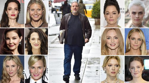 More and more women in Hollywood are coming forward with allegations about Harvey Weinsteim. (AAP)