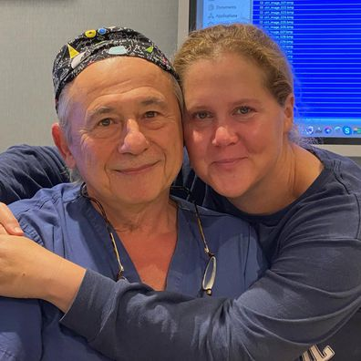 Amy Schumer and her endometriosis doctor, Dr Tamer Seckin