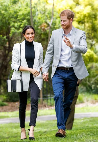 Meghan Markle royals wearing australian brands
