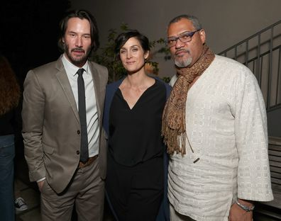 Keanu Reeves, Carrie-Anne Moss, Laurence Fishburne