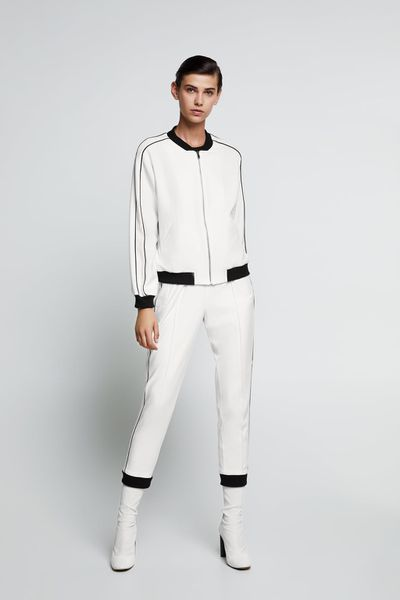 "<p><a href=""https://www.zara.com/au/en/trousers-with-piped-side-taping-p03163295.html?v1=6456094&v2=1055305"" target=""_blank"" title=""Zara Trousers with Piped Side Taping in Off-White, $49.95"">Zara Trousers with Piped Side Taping in Off-White, $49.95</a></p> <p><a href=""https://www.zara.com/au/en/bomber-jacket-with-contrasting-trims-p03161295.html?v1=6455634&v2=1055305"" target=""_blank"" title=""Zara Bomber Jacket with Contrasting Trims in Off-White, $69.95"">Zara Bomber Jacket with Contrasting Trims in Off-White, $69.95</a></p>"