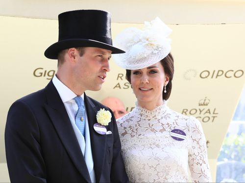 The Duke and Duchess of Cambridge at last year's extravaganza. (AAP)