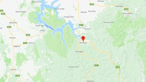 Jamieson is about 250 kilometres from Melbourne. (Google Maps)
