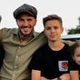 David and Victoria Beckham and their kids visit NSW adventure park