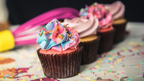 """""""We don't cut corners"""": Ms Matheson said her cupcakes are made fresh daily, with the highest quality ingredients available."""