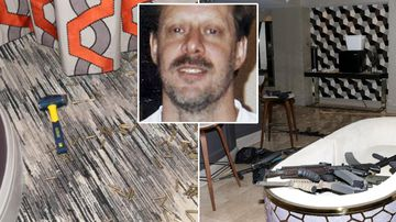 Never before seen images from Vegas gunman's hotel room