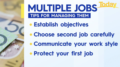 Tips for managing seperate jobs.