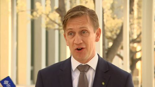 Victorian MP Julian Hill has fronted the cameras with an attempt at comedy.