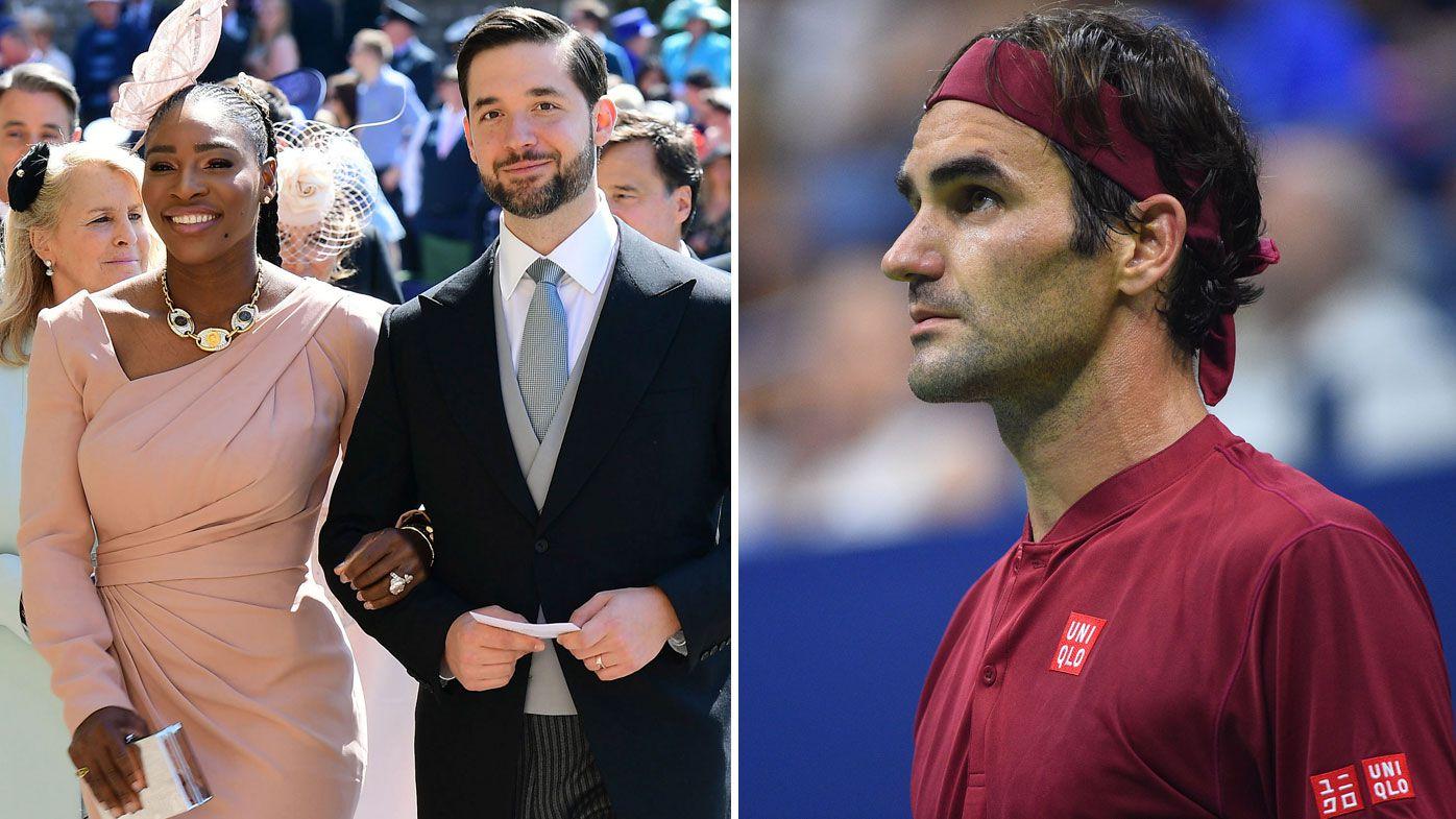 Serena Williams' husband Alexis Ohanian slammed after dragging Roger Federer into sexism debate