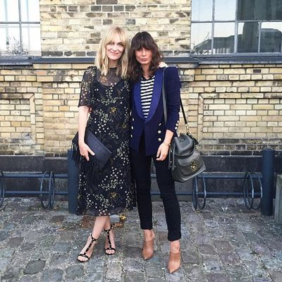"""<p>Two different outfits, two strong cases for <a href=""""http://honey.ninemsn.com.au/2015/07/22/15/42/fringe-benefits"""" target=""""_blank"""">cutting a fringe</a>.</p>"""