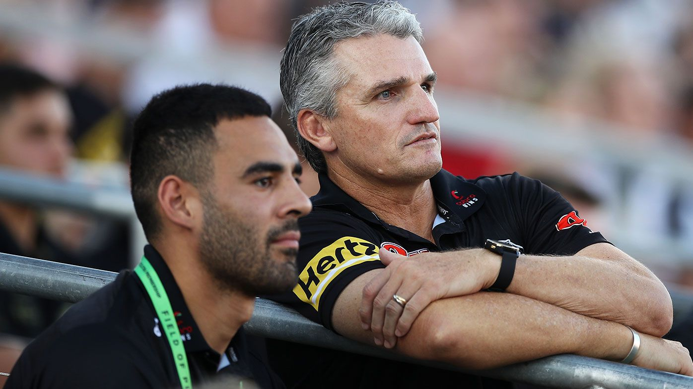 Panthers head coach Ivan Cleary
