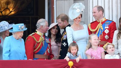 "Trooping the Colour: Princess Charlotte<span style=""white-space:pre;"">		</span>"
