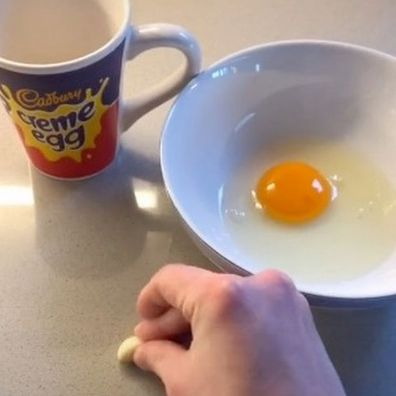 Egg separation hack