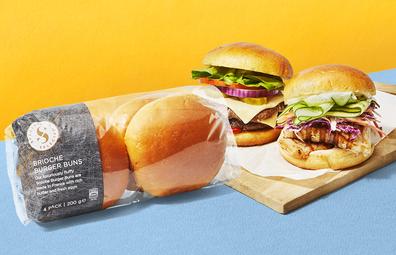 Aldi Specially Selected Brioche Burger Buns