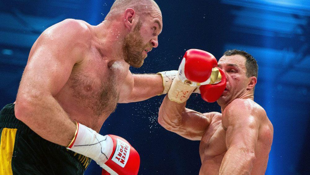 Fury says Klitschko fight postponed