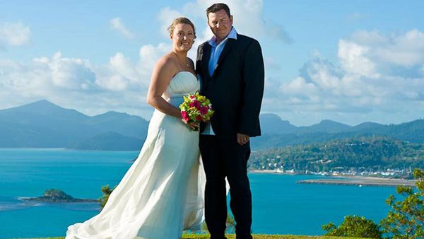 Sydney bride Allyson Duke picked her wedding venue, on Hamilton Island, before her fiancé proposed.