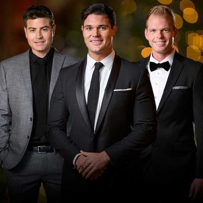 Stu Laundy(left) was the winner on Sophie Monk's season of The Bachelorette.