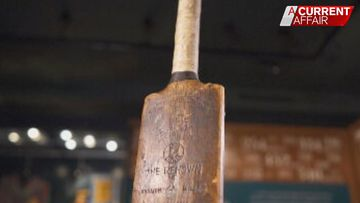 Clues reveal story behind cricket bat mystery