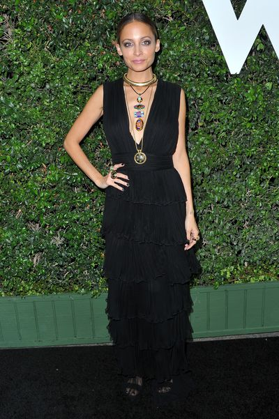 Nicole Richie at the Who What Wear 10th Anniversary party in Los Angeles, November, 2016