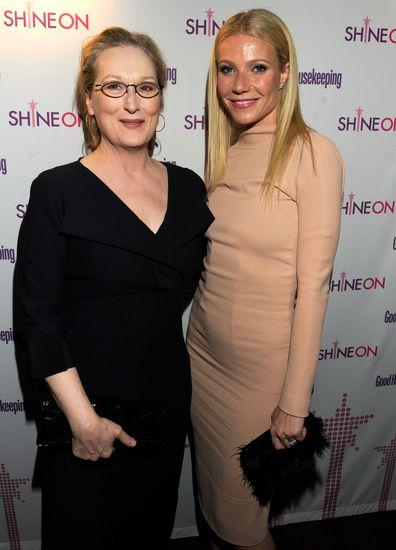 Celebrity neighbours, Meryl Streep, Gwyneth Paltrow