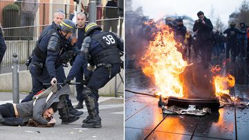 France has mobilised tens of thousands of police officers and made plans to shut down beloved tourist attractions like the Eiffel Tower and the Louvre on the eve of anti-government protests.