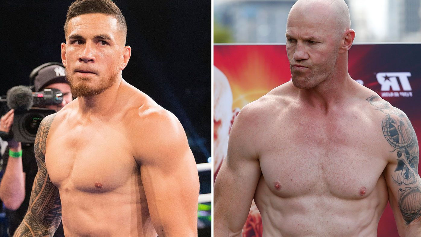 A clash in the boxing ring between Sonny Bill Williams and Barry Hall looks a step closer to reality. (Getty)