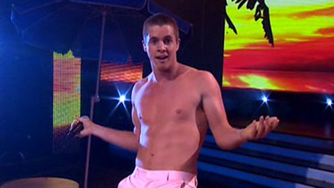 The X Factor: Johnny Ruffo takes off his shirt, guarantees victory