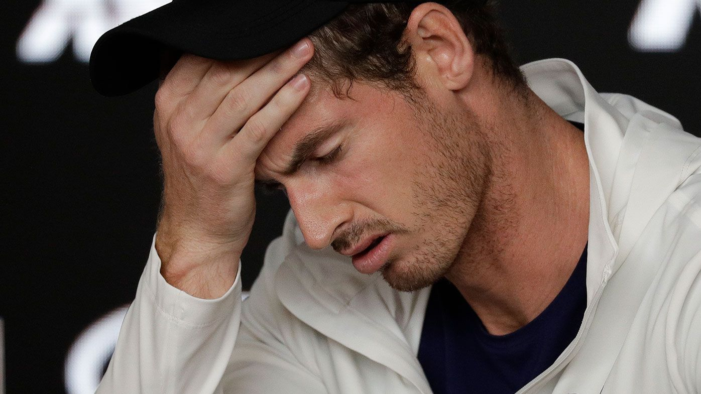 Andy Murray acknowledged that the Australian Open could be his last tournament.