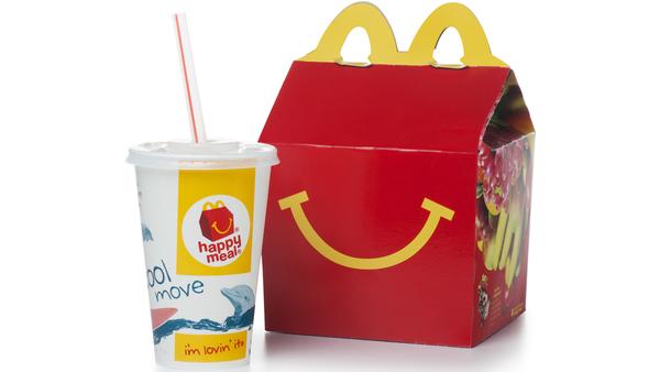 McDonald's Happy Meal stock image