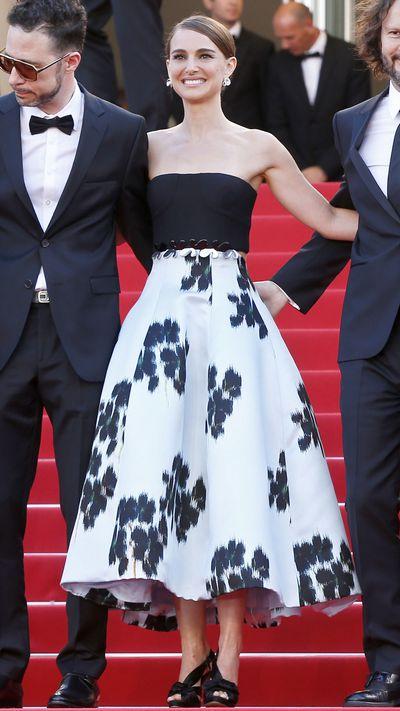 <p>Natalie Portman in Christian Dior Couture</p>
