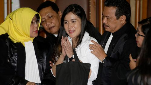 Wongso was sentenced to 20 years in prison in October for her friend's murder. (AAP)