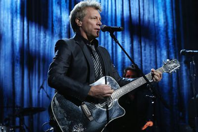 NOW: Swapping sex-therapy for strumming a guitar, Jon Bon Jovi is one of the greatest rock legends of all time. <br/><br/>The end.