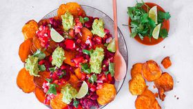 Leah Itsines' sweet potato nachos recipe