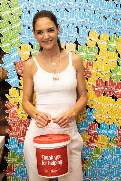 Katie Holmes, McDonald's, McHappy Day, ambassador, 2019
